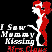 I Saw Mommy Kissing Mrs Claus Spray