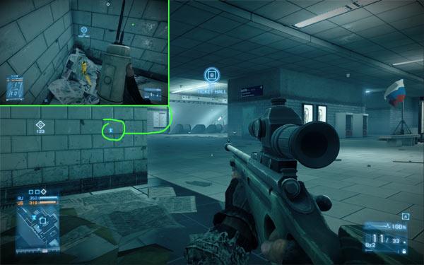 Battlefield 3 Metro Easy Sniper Level Up